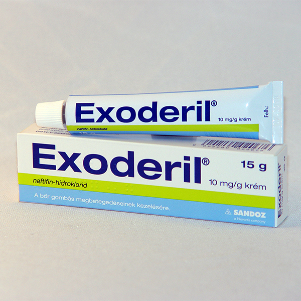 Exoderil 10 mg/ml krém