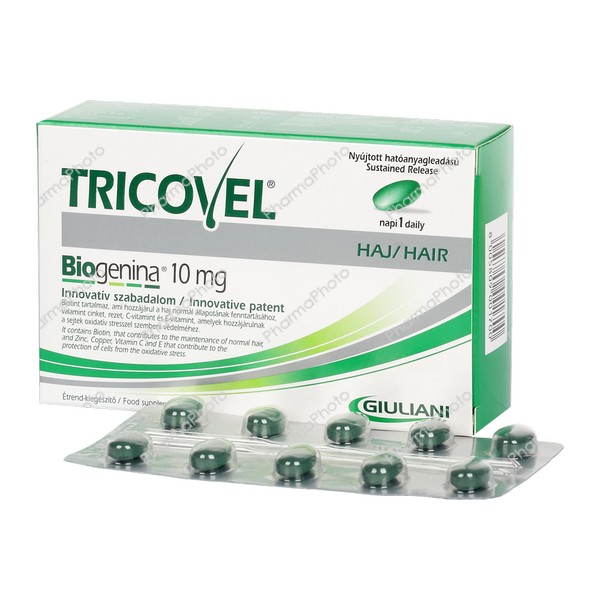 Tricovel Biogenina 10 mg tabletta 30x485547 2016 tn